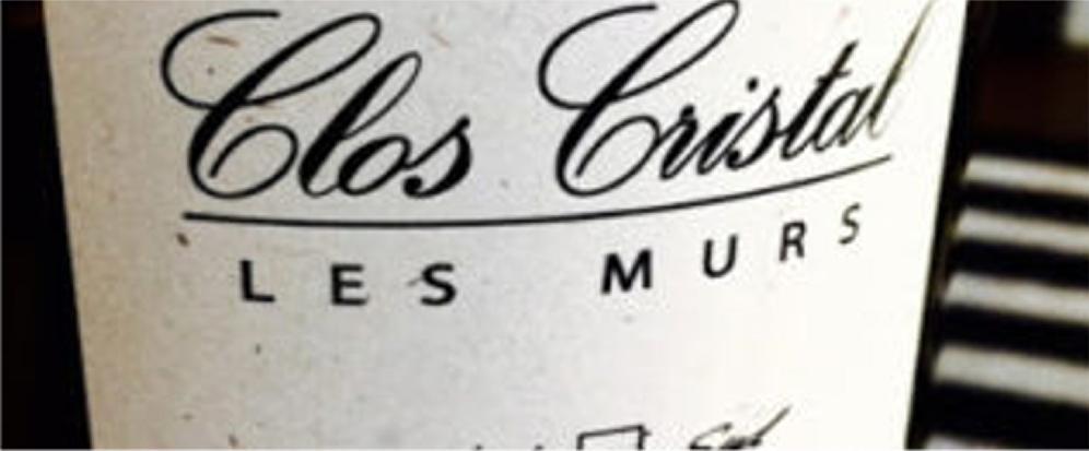 Clos Cristal - Cristal Closed - Saumur - invincibles